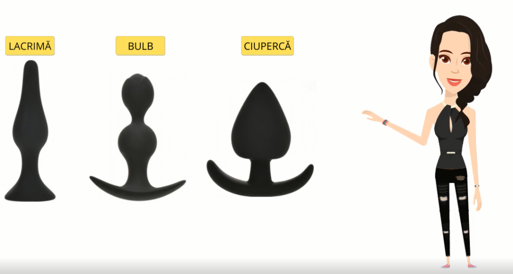 tipuri dopuri anale