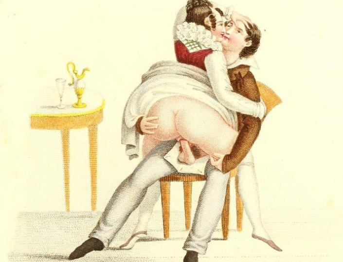 ilustratii erotice secolul XIX