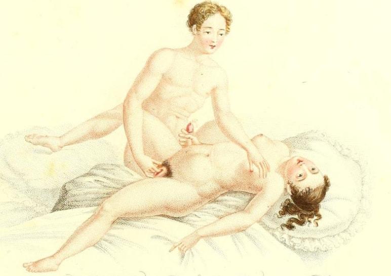 ilustratie erotica 1825