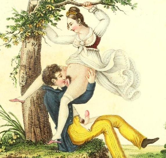 ilustratii erotice Invocation à l'amour. Chant philosophique