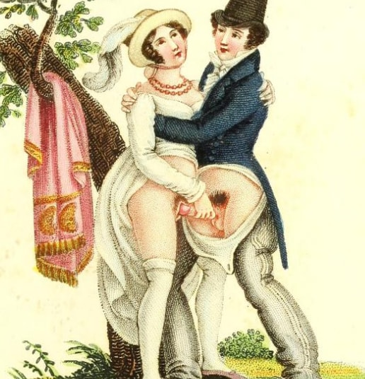 vinieta erotica Invocation à l'amour. Chant philosophique