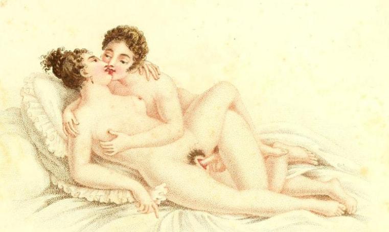 viniete erotice secolul XIX