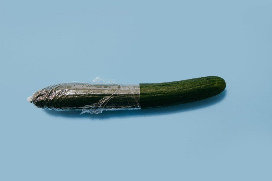 castravete folosit pentru masturbare